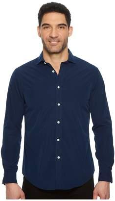 Polo Ralph Lauren Striped Poplin Brownstone Long Sleeve Sport Shirt Men's Clothing