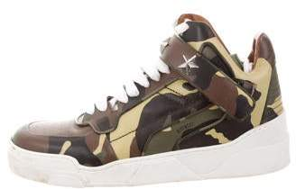 Givenchy Camouflage Tyson Sneakers