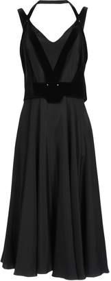 Esteban Cortazar 3/4 length dresses