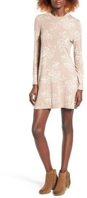 Women's O'Neill Leona Mock Neck Minidress $49.50 thestylecure.com