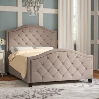 Willa Arlo Interiors Elora Upholstered Standard Bed Willa Arlo Interiors