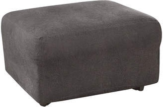 Sure Fit Ultimate Stretch Faux-Leather 1-pc. Ottoman Slipcover
