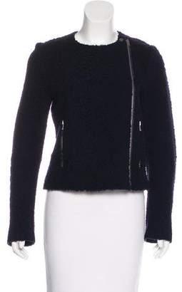 Celine Shearling Moto Jacket w/ Tags