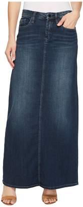 Blank NYC Long Denim Skirt in Masterbathe Women's Skirt