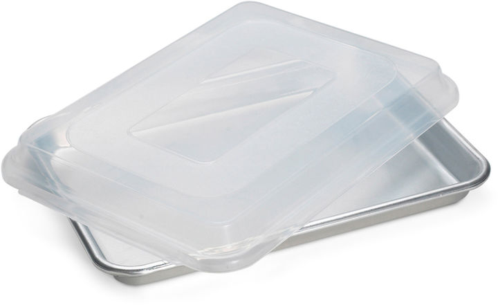 Nordicware Bakers Quarter Sheet Pan with Lid