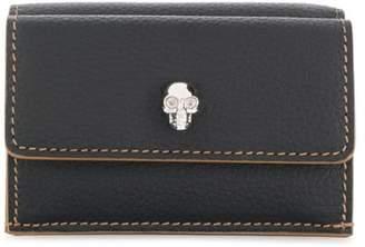 Alexander McQueen mini skull wallet