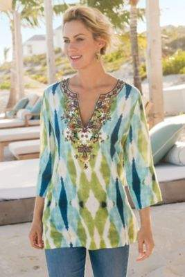Soft Surroundings Paraiso Tunic
