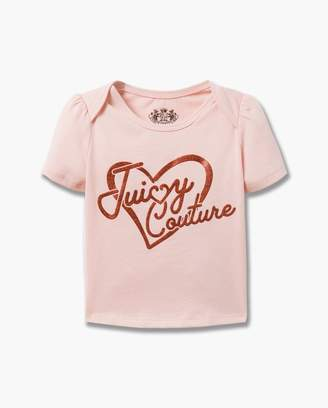 Juicy Couture Valentines Day Heart Tee