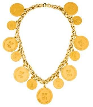 Christian Dior Bicentennial Coin Collar Necklace