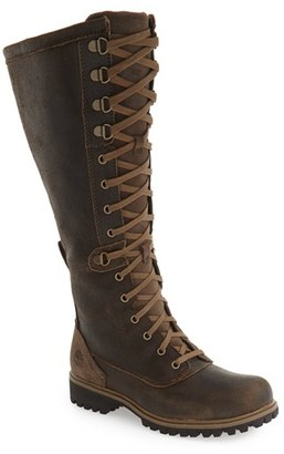 Women's Timberland 'Wheelwright' Lace-Up Boot $259.95 thestylecure.com