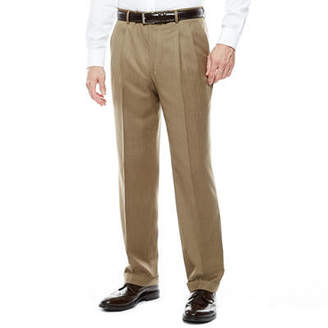 STAFFORD Stafford Travel Pleated Suit Pants - Classic