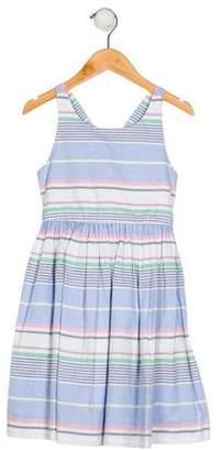 Polo Ralph Lauren Girls' Sleeveless A-Line Dress