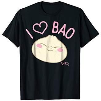 Disney Pixar Bao I Heart Bao Smiling Face Graphic T-Shirt