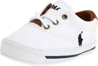 Ralph Lauren Vaughn Infant Baby Boys 3 White Athletic Sneakers Shoes