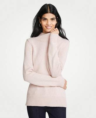 Ann Taylor Marled Turtleneck Sweater