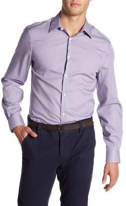 Perry Ellis Slim Fit Long Sleeve Woven Shirt