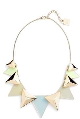 Adia Kibur (アディア キブラ) - Adia Kibur Layered Triangle Statement Necklace
