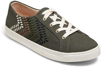 Jack Rogers Luna Canvas Lace-Up Sneakers