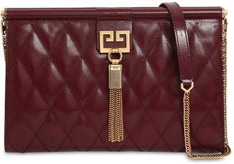 Givenchy Medium Gem Quilted Leather Clutch 03d9bf4db1f87