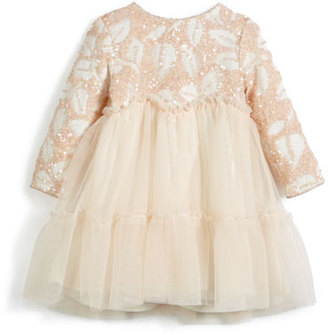 Billieblush Sequin and Tulle Dress, Size 12-18 Months $88 thestylecure.com