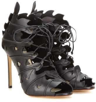 Francesco Russo Cut-out leather sandals