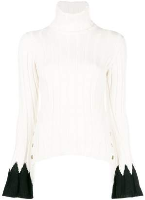 Alexander McQueen ribbed knit sweater