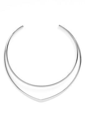 Argento Vivo Double Bar Collar Necklace $65 thestylecure.com