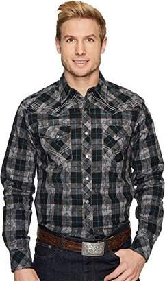 Wrangler Men's Rock 47 Long Sleeve Snap Front Shirt