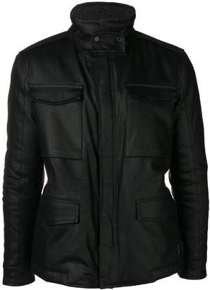 Dondup slim-fit biker jacket