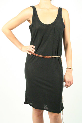Brochu Walker Belted Tank Dress
