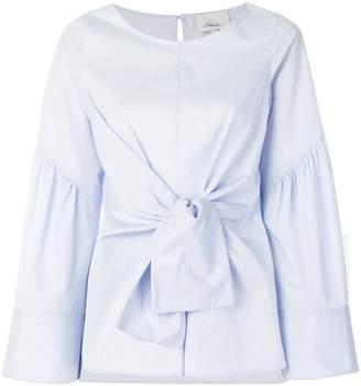3.1 Phillip Lim waist-tied long-sleeve blouse
