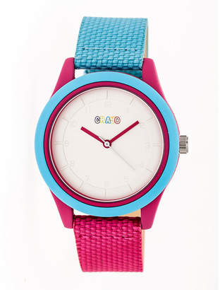 Crayo Pleasant Unisex Multicolor Strap Watch-Cracr3905
