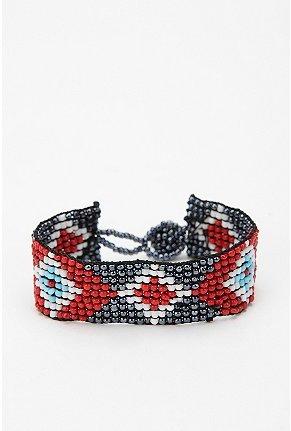 Urban Renewal Vintage Beaded Bracelet