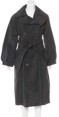 Donna Karan Double-Breasted Long Coat w/ Tags