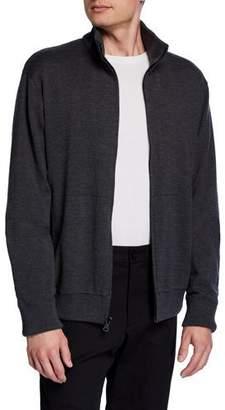 Vince Men's Reversible Front-Zip Sweater Jacket