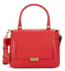 Anya Hindmarch Small Bathhurst Leather Satchel