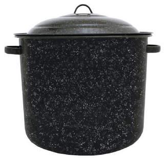 Granite Ware Graniteware Stock Pot with Lid