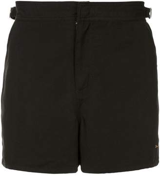 The Upside logo running shorts