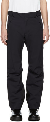 Moncler Navy Tech Sport RECCO® Ski Trousers