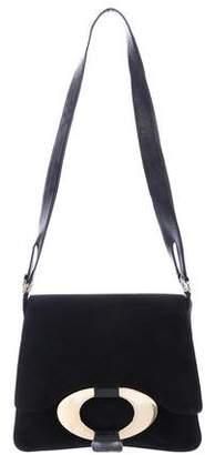 Valentino Suede Shoulder Bag