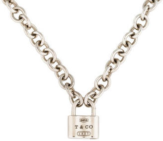 Tiffany & Co. 1837 Lock Necklace $195 thestylecure.com