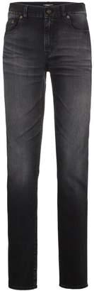 Saint Laurent Black washed skinny jeans