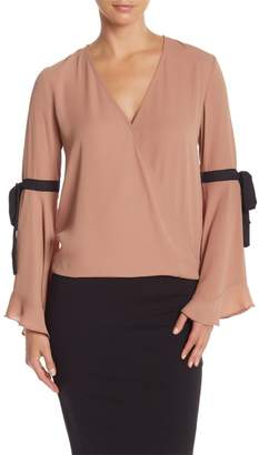 Do & Be Do + Be Tie Bell Sleeve Blouse