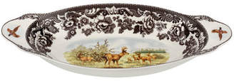 Spode Woodland American Wildlife Mule Deer Bread Tray