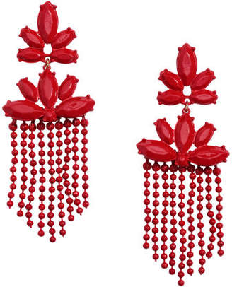 H&M Long Earrings - Red
