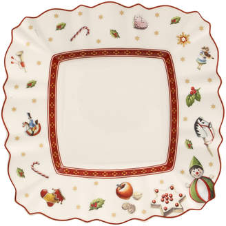 Villeroy & Boch Toy's Delight Square Bread & Butter Plate 6.5x6.5 in