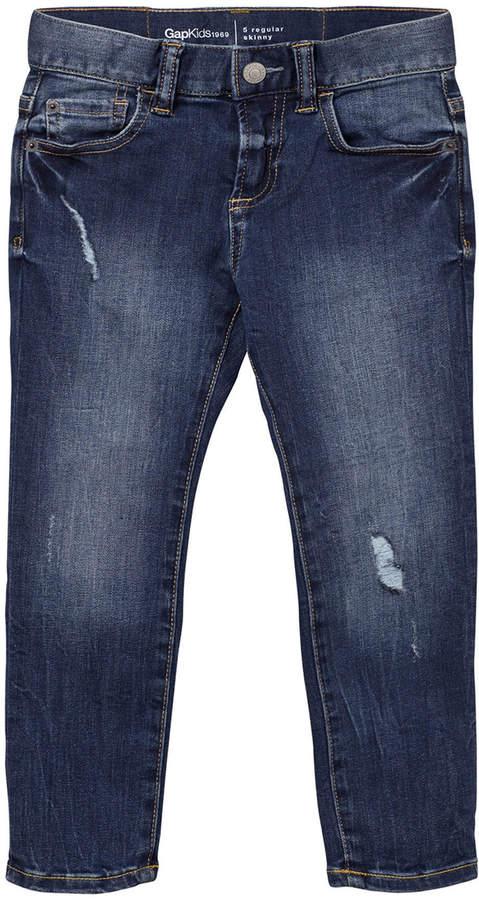 Medium Wash 1969 High Stretch Skinny Jeans