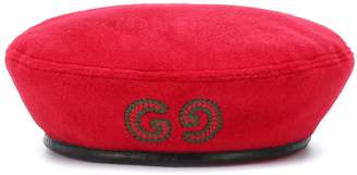 Gucci Embroidered beret