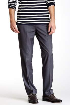 "Louis Raphael Solid Herringbone Modern Fit Pants - 30-34"" Inseam"