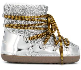 DSQUARED2 metallic moon boots